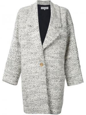 Пальто A Piece Apart. Цвет: белый