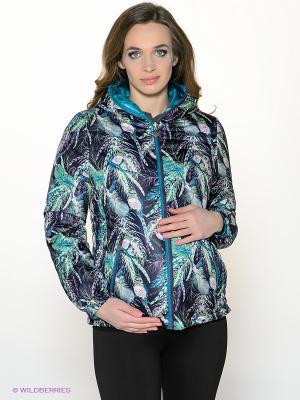 Куртка I love mum. Цвет: морская волна