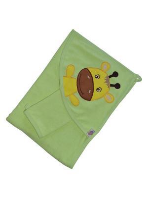 Полотенца банные Кошки Мышки. Цвет: зеленый
