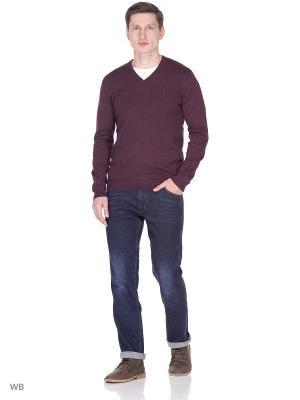 Пуловер Wrangler. Цвет: темно-бордовый