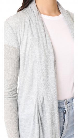 Long Sleeve Open Cardigan Three Dots