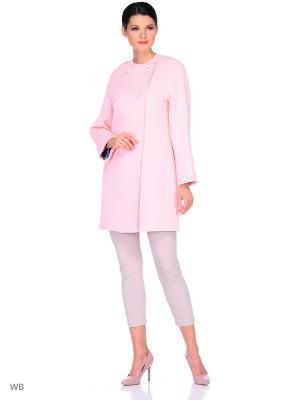 Пальто FORTUNE. Цвет: розовый