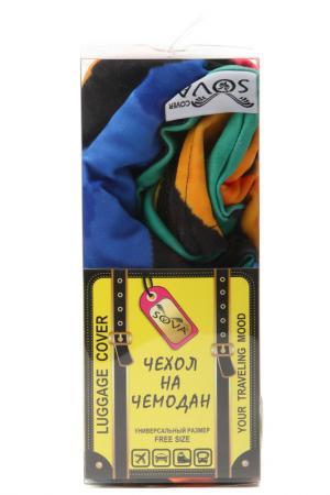 Чехол на чемодан SOVA COVER. Цвет: гранж граффити