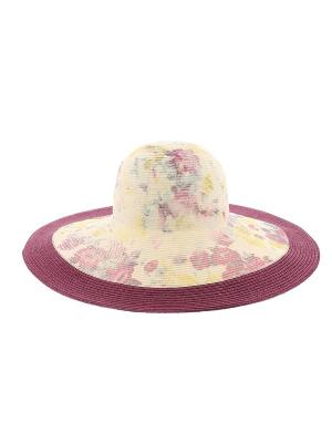 Шляпа R.Mountain. Цвет: фиолетовый, желтый