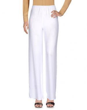 Повседневные брюки ONELOVE. Цвет: белый
