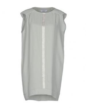 Короткое платье AXARA PARIS. Цвет: светло-зеленый