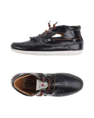 Высокие кеды и кроссовки DOLFIE. Цвет: темно-синий