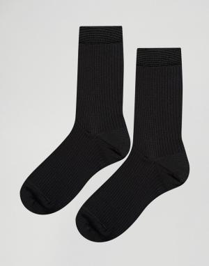 Pieces 2 пары носков. Цвет: черный