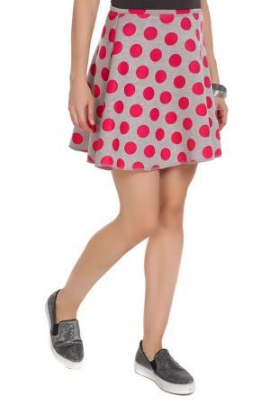 Юбка Majaly. Цвет: розовый