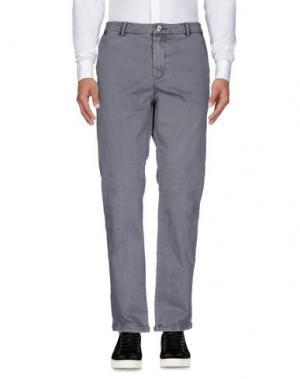 Повседневные брюки RED SOUL. Цвет: свинцово-серый