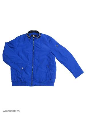 Куртка Malinardi. Цвет: индиго