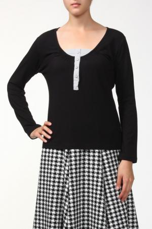 Блузка Ikiler. Цвет: черный