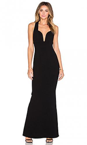 Подходящее вечернее платье JILL STUART. Цвет: черный