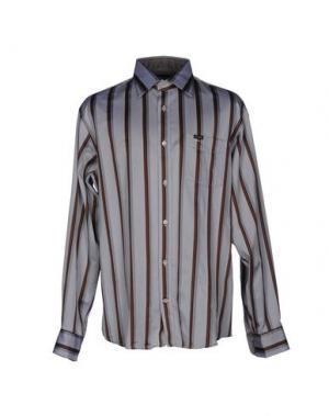 Pубашка FAÇONNABLE. Цвет: серый