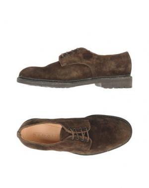 Обувь на шнурках REGAIN. Цвет: хаки