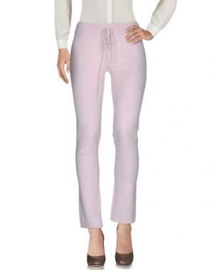 Повседневные брюки BE YOU by GERALDINE ALASIO. Цвет: розовый