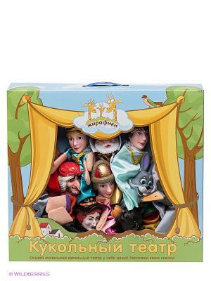Кукольный театр Принцесса Лягушка Жирафики. Цвет: бежевый, красный, серый