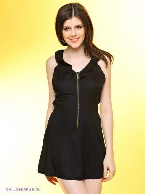 Платье Nikita. Цвет: черный