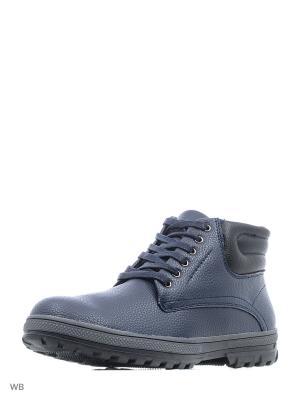 Ботинки Escan. Цвет: синий