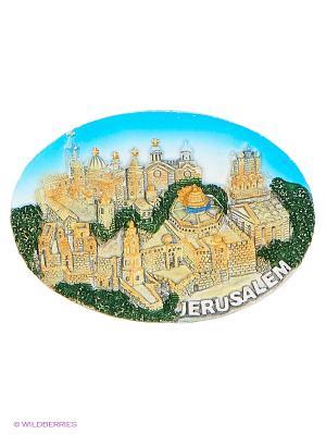 Магнит Иерусалим 3D Bethlehem Star. Цвет: светло-коричневый