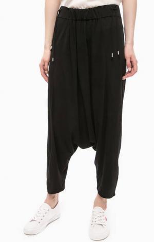 Черные брюки в гаремном стиле DRYKORN. Цвет: черный