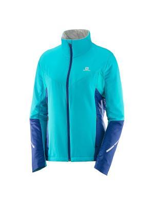 Куртка ESCAPE JKT W Blue Bird/Medieval SALOMON. Цвет: голубой, синий