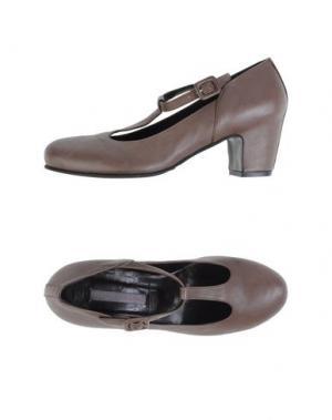 Туфли ROSAMUNDA. Цвет: свинцово-серый