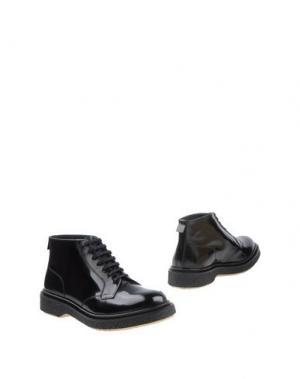 Полусапоги и высокие ботинки ADIEU. Цвет: черный