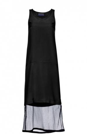 Платье Ottodame Ottod'ame. Цвет: черный