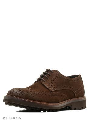 Туфли Trussardi. Цвет: коричневый