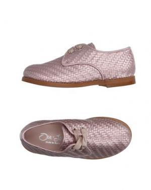Обувь на шнурках OCA-LOCA. Цвет: розовый