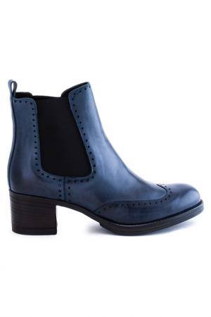 Ботинки Elena. Цвет: темно-синий