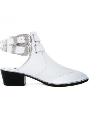 Ботинки Lucas III Senso. Цвет: белый