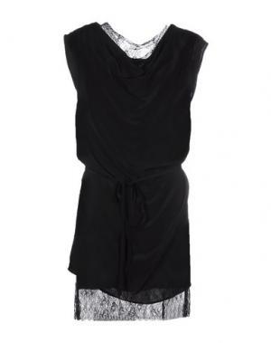 Короткое платье FALCON & BLOOM. Цвет: черный