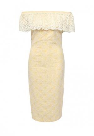 Платье Vittoria Vicci. Цвет: желтый