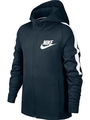 Куртка B NSW JKT TRIBUTE Nike. Цвет: синий