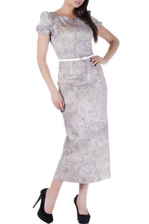 Платье Mannon. Цвет: вышитые цветы
