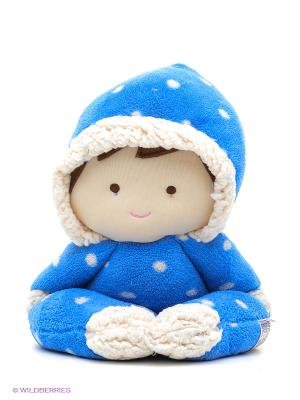 Кукла-грелка Гарри Warmies. Цвет: синий