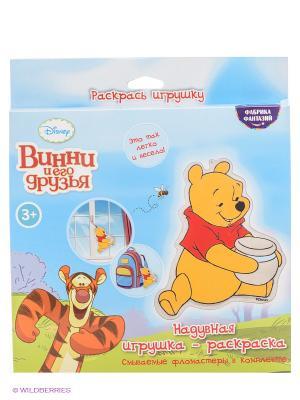 Набор для раскрашивания надувной игрушки Винни Пух Фабрика Фантазий. Цвет: белый