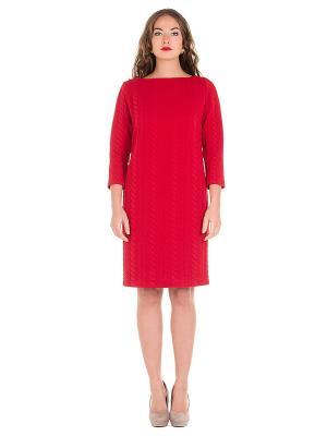 Платье PROFITO AVANTAGE. Цвет: красный