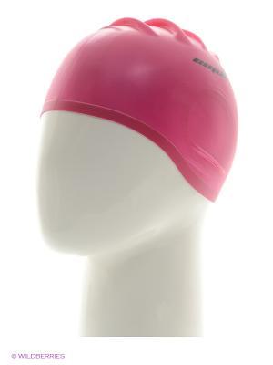 Шапочка для плавания EMDI. Цвет: розовый