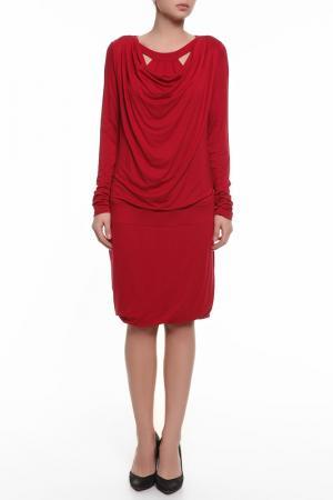 Платье Pietro Brunelli. Цвет: красный