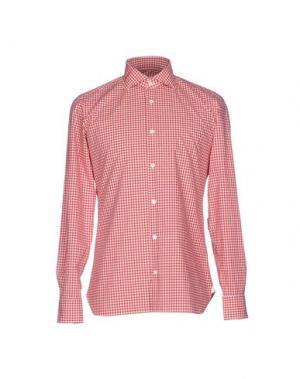Pубашка GIAMPAOLO. Цвет: кирпично-красный