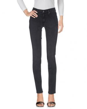 Джинсовые брюки JAMES JEANS. Цвет: свинцово-серый