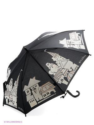 Зонт Flioraj. Цвет: черный, желтый