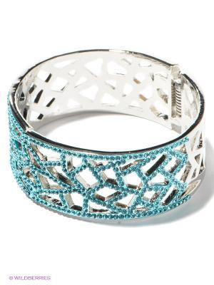 Браслет Royal Diamond. Цвет: голубой, серебристый