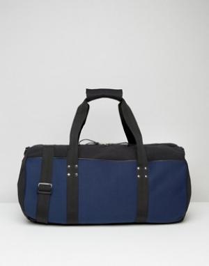 Systvm Темно-синяя спортивная сумка. Цвет: темно-синий