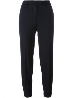 Укороченные брюки Alberto Biani. Цвет: синий