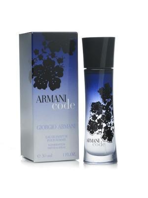 Code Women edp 30 ml Armani. Цвет: темно-синий