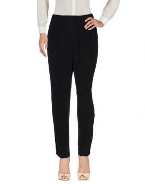 Повседневные брюки EQUIPMENT FEMME. Цвет: стальной серый